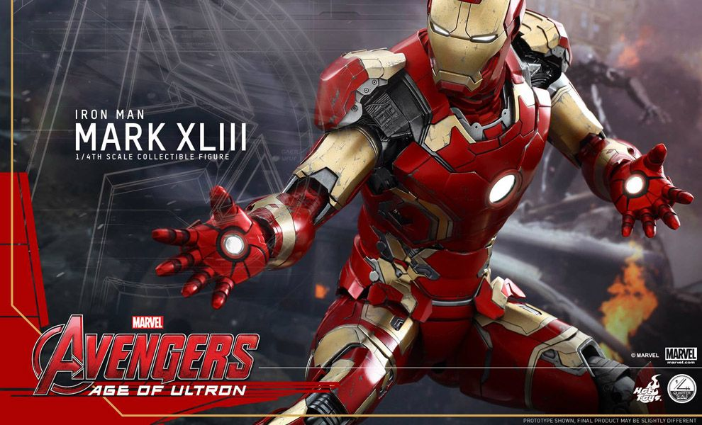 HOT TOYS QS005 AVENGERS AGE OF ULTRON IRON MAN MARK XLIII