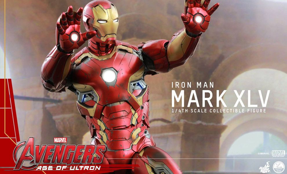 HOT TOYS QS006 AVENGERS AGE OF ULTRON IRON MAN MARK XLV 1