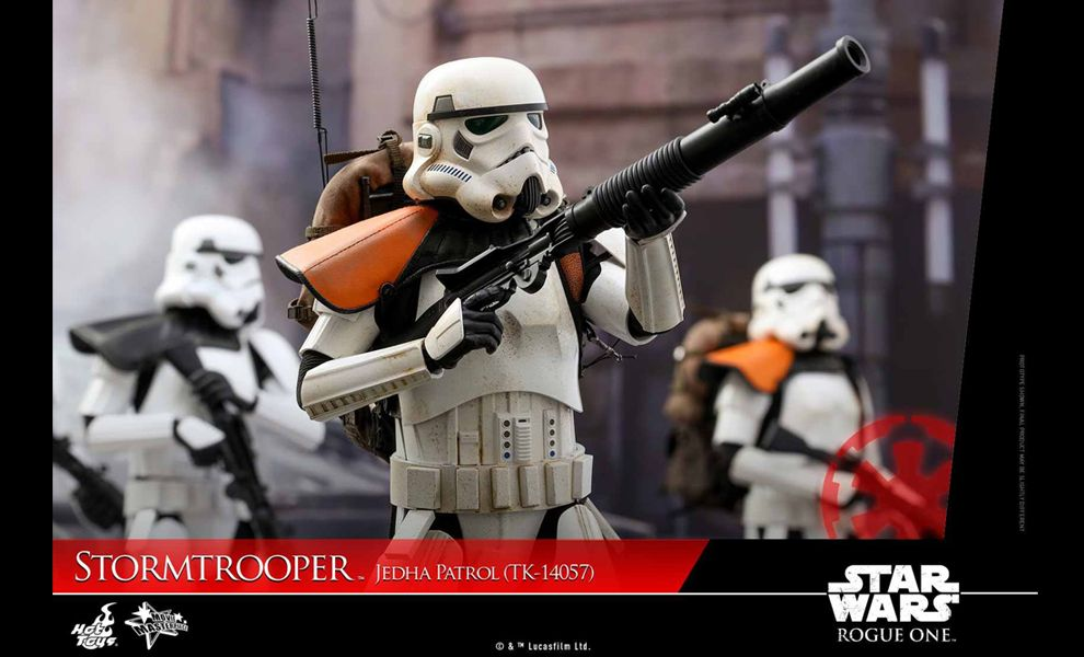 HOT TOYS MMS392 STAR WARS ROGUE ONE STORMTROOPER JEDHA PATROL TK-14057