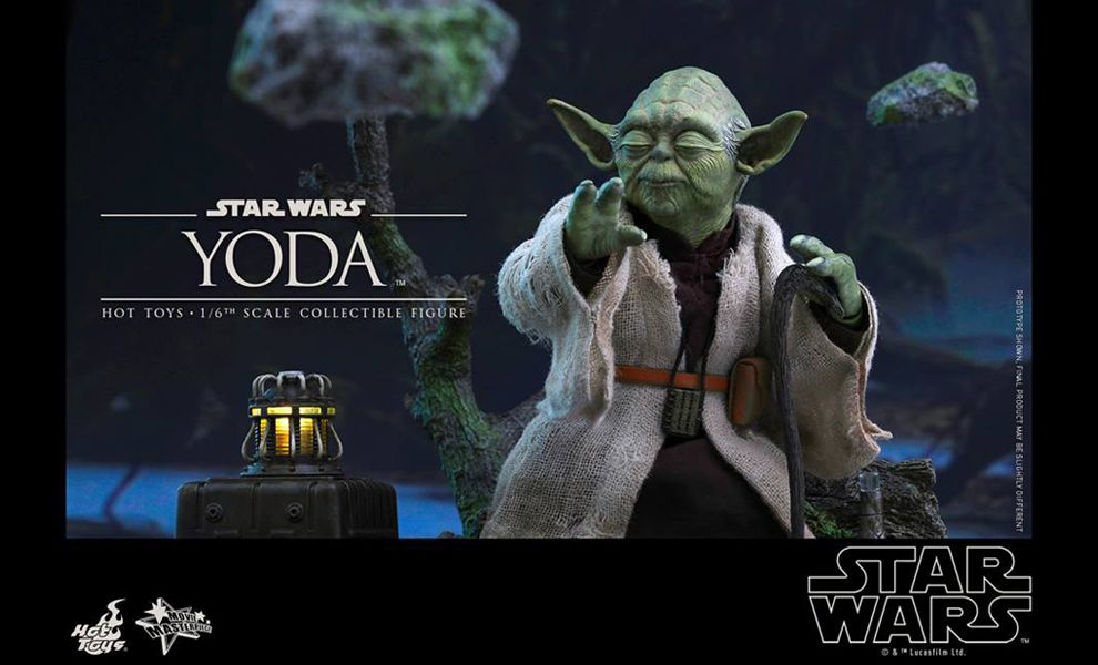 HOT TOYS MMS369 STAR WARS V THE EMPIRE STRIKES BACK YODA
