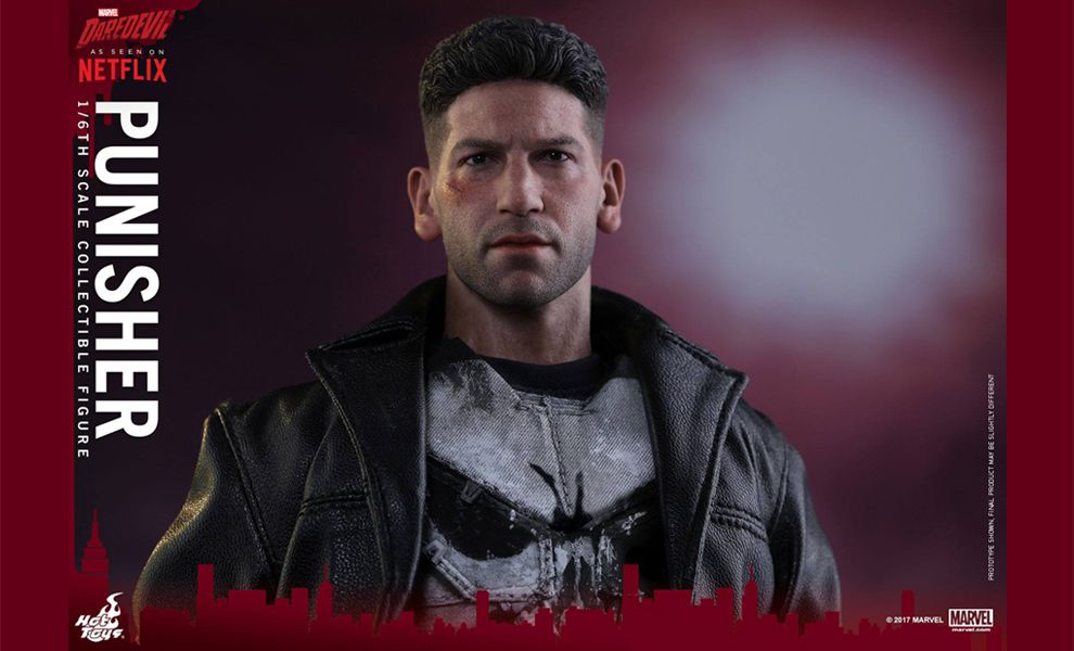 HOT TOYS TMS004 MARVEL'S DAREDEVIL PUNISHER 1/6TH SCALE COLLECTIBLE FIGURE