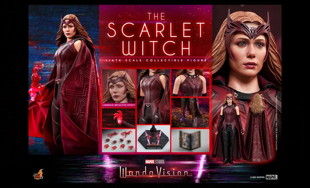 HOT TOYS TMS036 WANDAVISION THE SCARLET WITCH BANNER