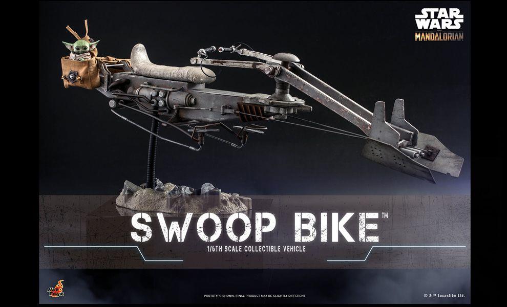 Hot Toys TMS053 Star Wars The Mandalorian Swoop Bike Banner