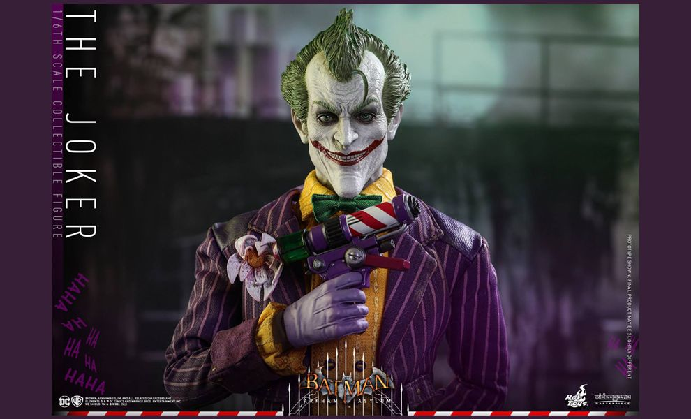 HOT TOYS VGM27 THE JOKER BATMAN ARKHAM ASYLUM