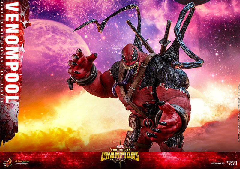 Hot Toys 1/6th Scale VGM35 Marvel Contest of Champions