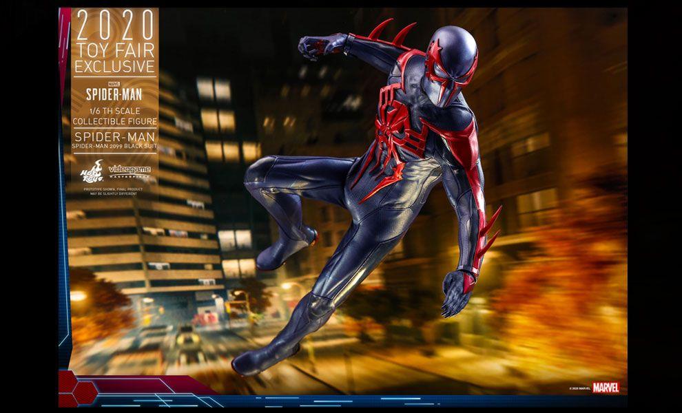 Hot Toys VGM42 Marvel's Spider-Man Spider-Man Spider-Man 2099 Black Suit 2020 Toy Fair Exclusive