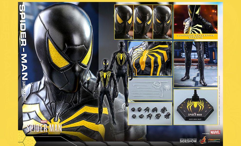 Hot Toys VGM44 Marvel's Spider-Man Anti-Ock Suit banner