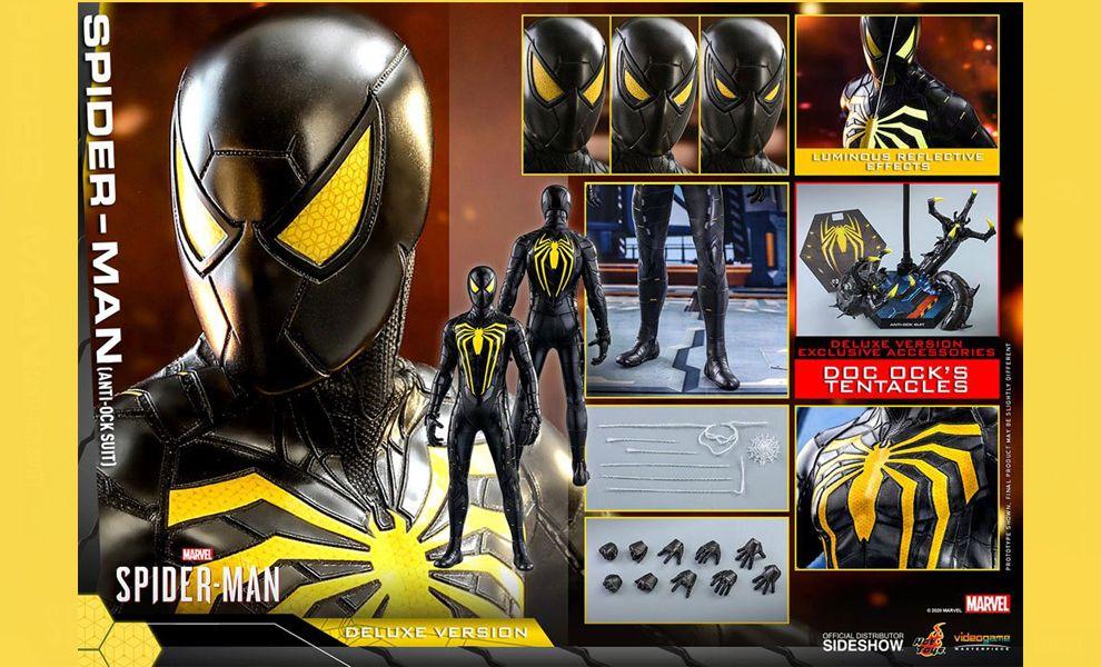 Hot Toys VGM45 DX Marvel's Spider-Man Anti-Ock Suit Deluxe Version Banner
