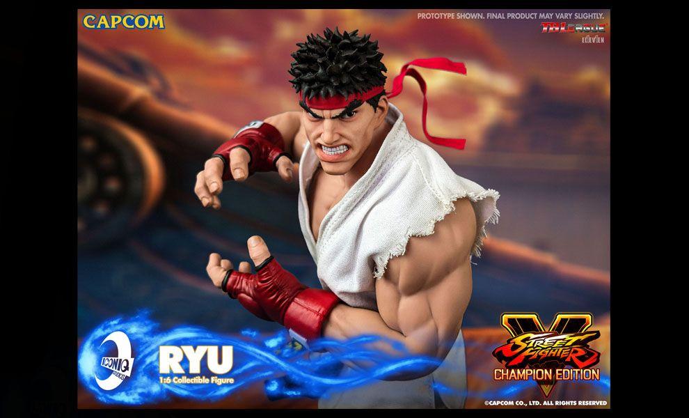 ICONIQ STUDIO IQGS-01 1/6 RYU Street Fighter CAPCOM Banner