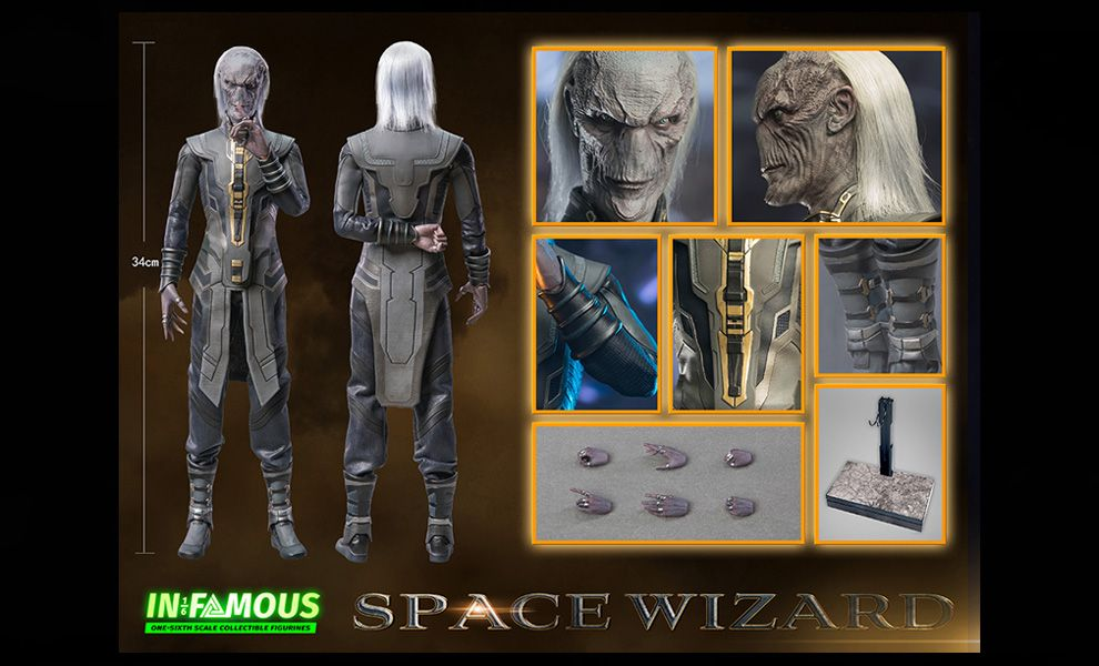 IN-FAMOUS IF001 SPACE WIZARD EBONY MAW AVENGERS BANNER