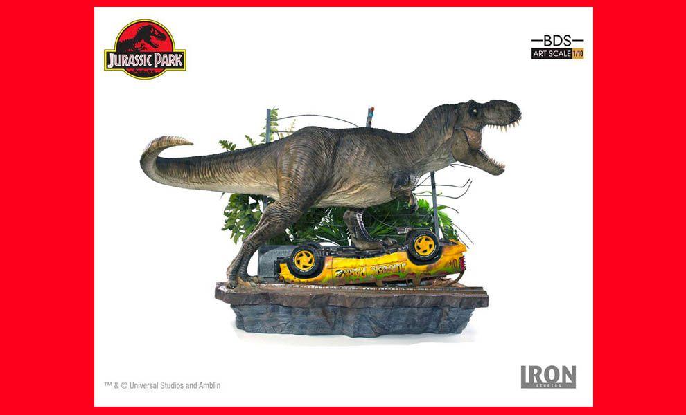 Iron-Studios-Jurassic-Park-Art-Scale-Diorama-1_10-T-Rex-Attack-Set-A