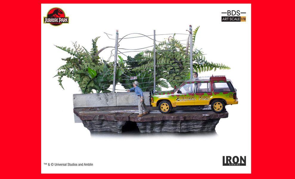 Iron-Studios-Jurassic-Park-Art-Scale-Diorama-1_10-T-Rex-Attack-Set-B