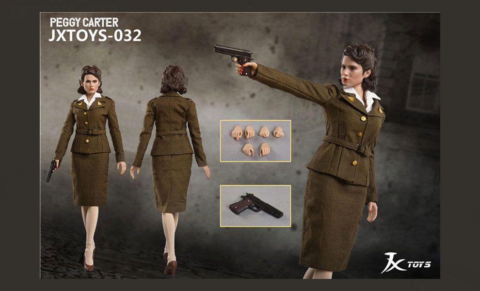 JX Toys JX032 Captain America Margaret Peggy Carter Action Figure