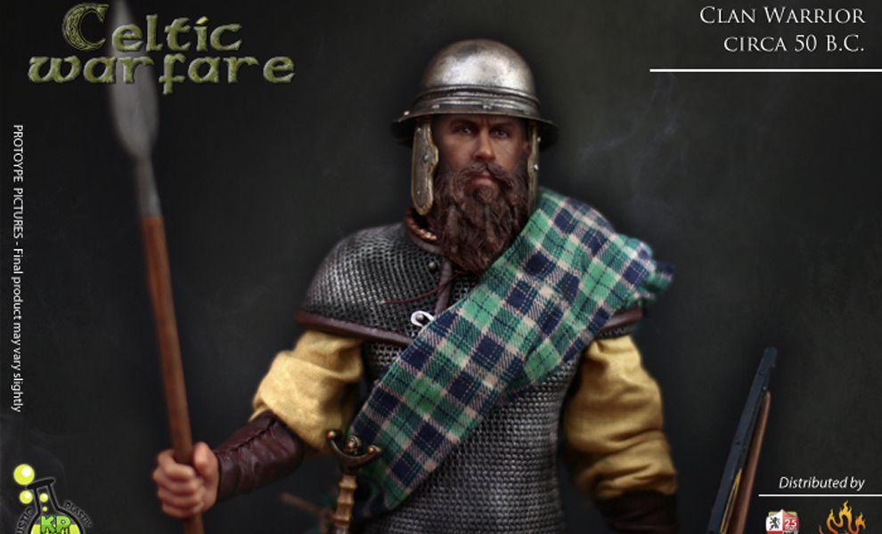 Kaustic Plastik Clan Warrior KP11A Celtic Warfare