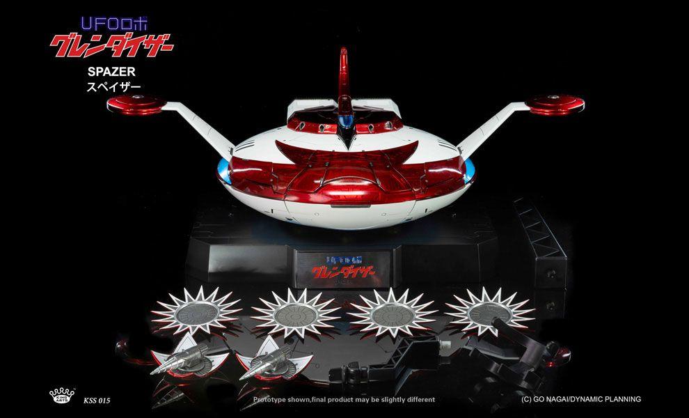 King-Arts-DFS071-Diecast-Scene-Series-SPAZER-for-Grendizer-Ufo-Robot-Grendizer