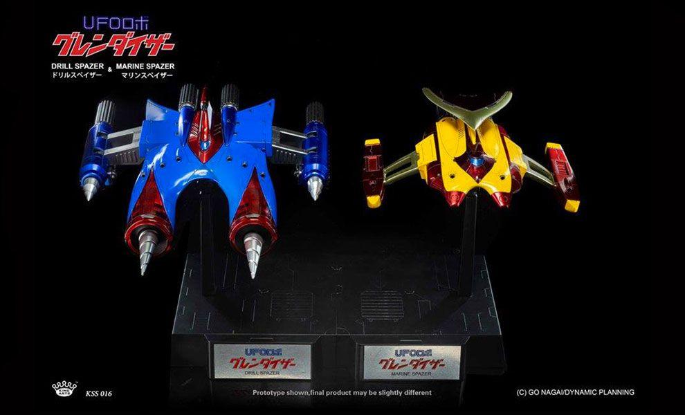 King-Arts-KSS016-Drill-Spazer-&-Marine-Spazer-Set-Ufo-Robot-Grendizer-Diecast-Figure-Series