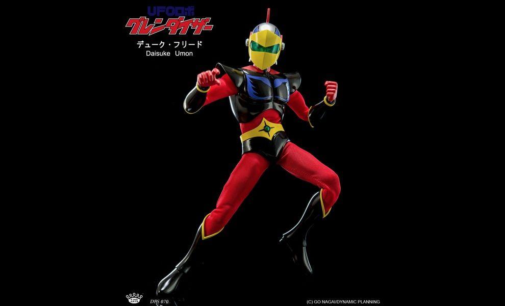 King Arts DFS070 Diecast Figure Series  Daisuke Umon Duke Fleed Actarus Ufo Robot Grendizer Goldrake