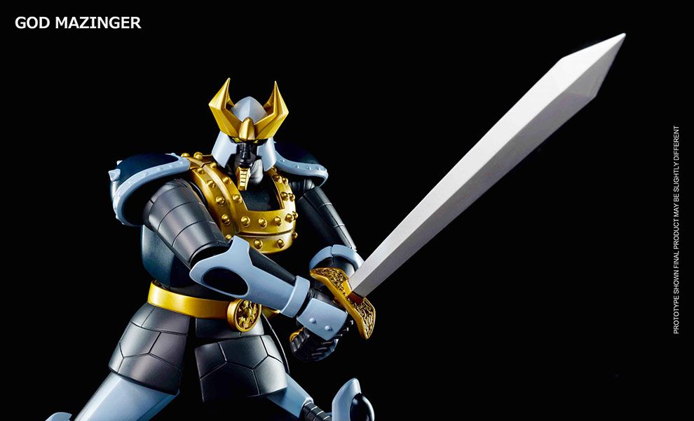 KING ARTS DFS073 DIECAST FIGURE SERIES GOD MAZINGER