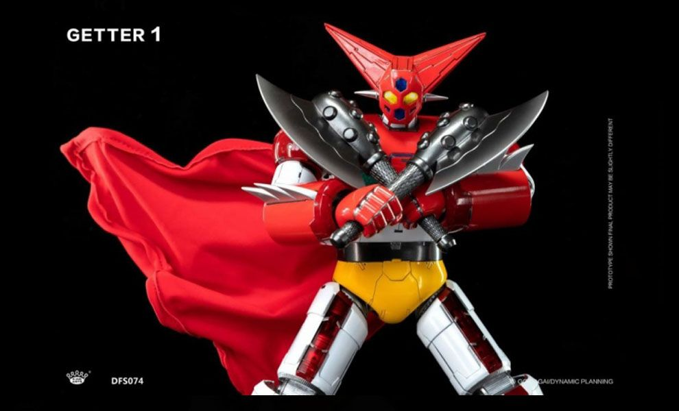 King Arts DFS074 Getter Robot Getter 1 Diecast Figure Series banner