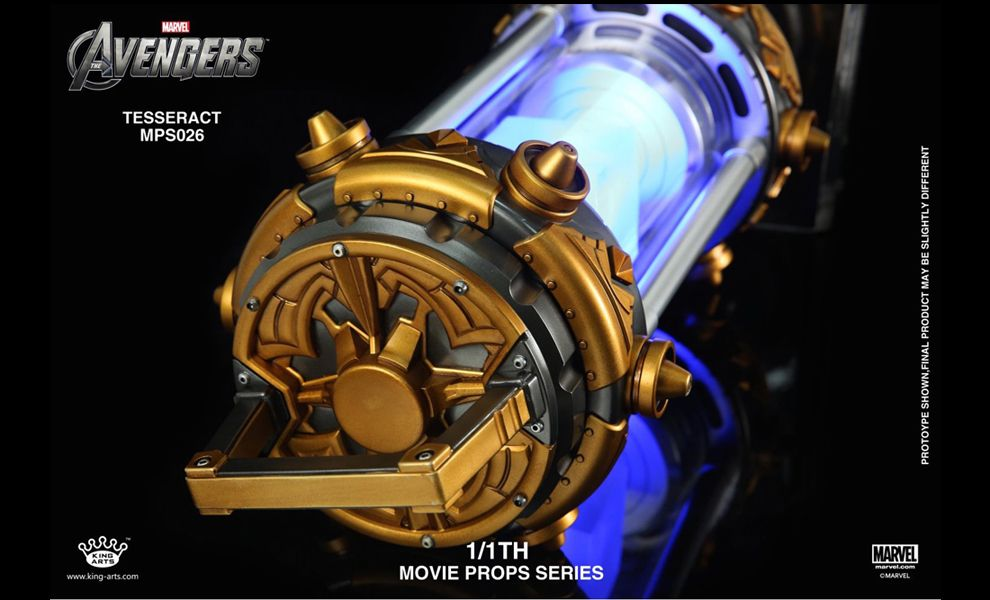 KING ARTS MPS026 1/1TH MOVIE PROPS SERIES AVENGERS 2 TESSERACT