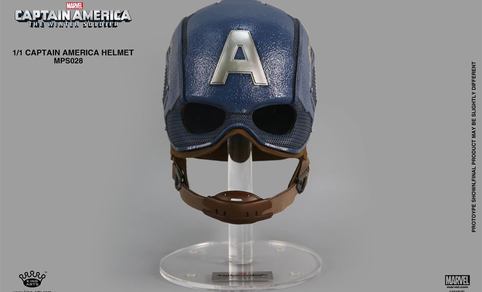 KING ARTS MPS028 1:1 CAPTAIN AMERICA THE WINTER SOLDIER CAPTAIN AMERICA HELMET