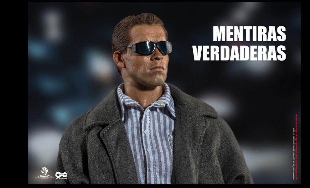 KING OF FIGURES KOF005 TRUE LIES MENTORS VERDADERAS Arnold Schwarzenegger as Harry Tasker