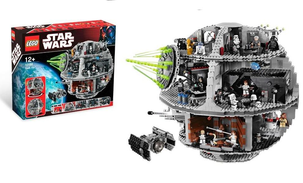 LEGO STAR WARS 10188 DEATH STAR LA MORTE NERA