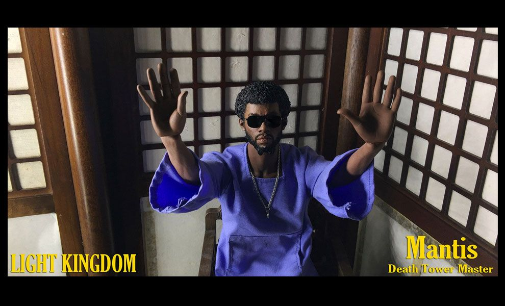LIGHT KINGDOM Game of Death LT002 Kareem Abdul Jabbar Hakim Mantis