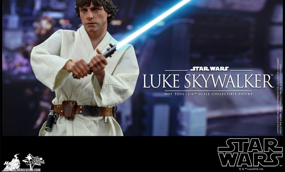HOT TOYS MMS297 STAR WARS EPISODE IV LUKE SKYWALKER