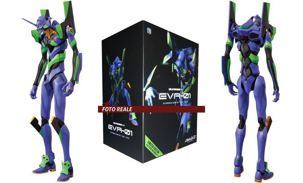 MEDICOM RAH597 NEO EVANGELION 2.0 UNIT-01 LIMITED EDITION