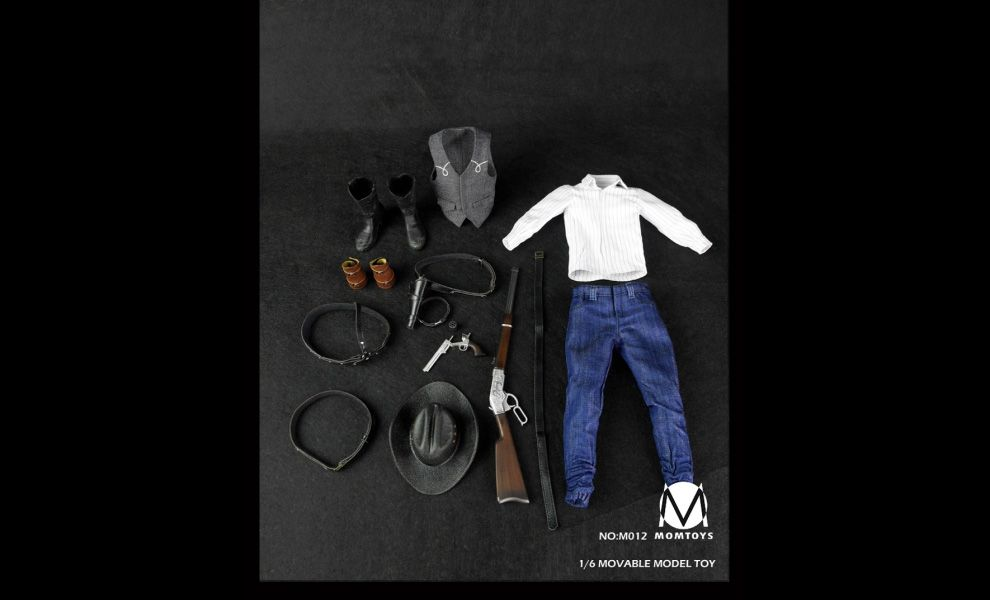 MOMTOYS M0012 WESTERN DENIM SET MOVAIBLE MODEL TOY