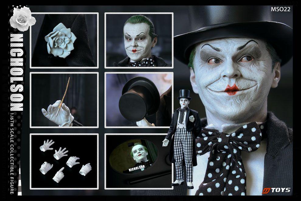 MTOYS MS022 Pantomime Joker Nicholson 1/6 figure Banner