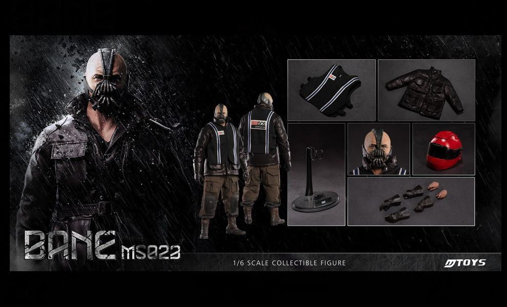 MTOYS MS023 BANE Motorcycle Version 1/6 figure banner