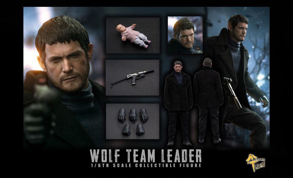 MTTOYS MTT008 Wolf Team Leader 1/6 action figure Banner