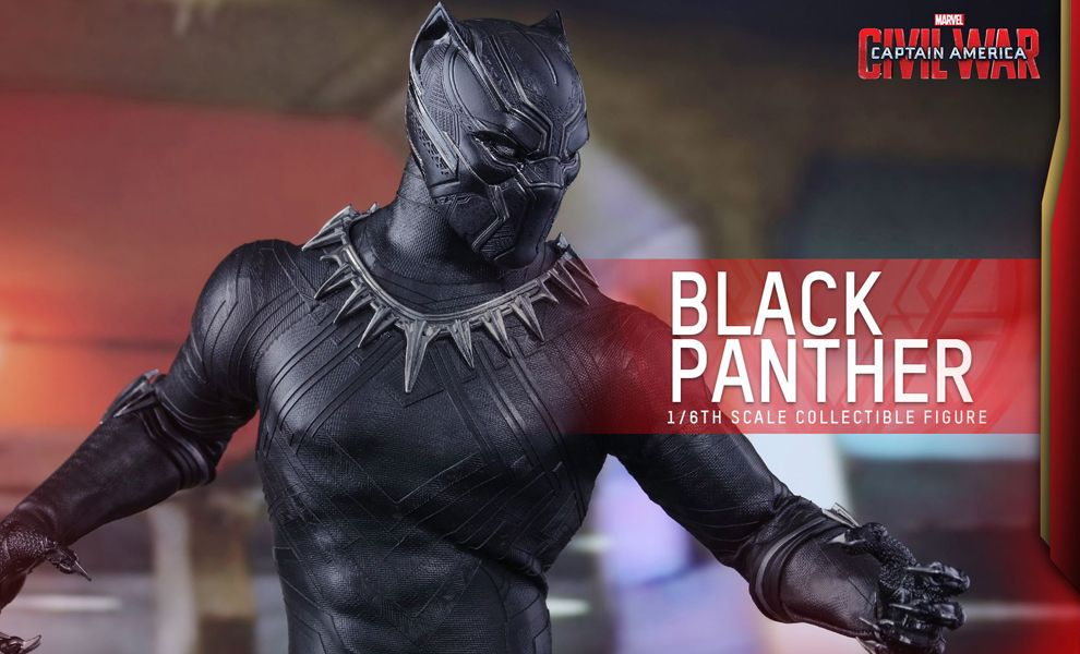 HOT TOYS MMS363 CAPTAIN AMERICA CIVIL WAR BLACK PANTHER
