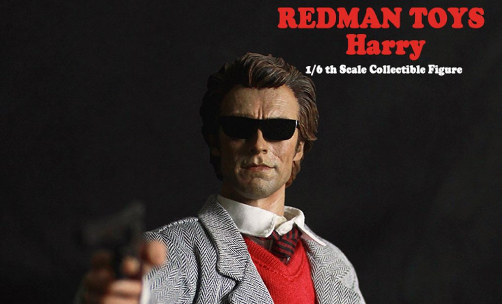 REDMAN TOYS RM010 CLINT EASTWOOD as HARRY CALLAGHAN INSPECTOR 44