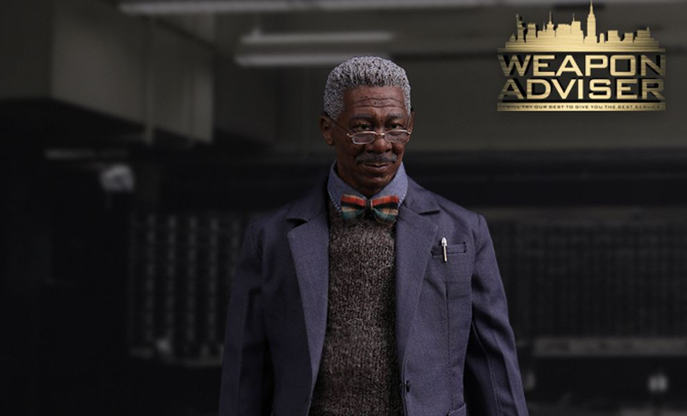 VTS VM010 BATMAN THE DARK KNIGHT LUCIUS FOX WEAPON ADVISER