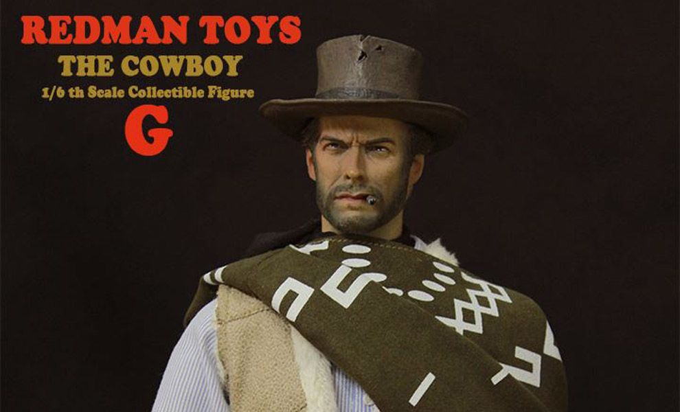 REDMAN TOYS RM007 TOYS THE GOOD THE BAD THE UGLY CLINT EASTWOOD IL BIONDO