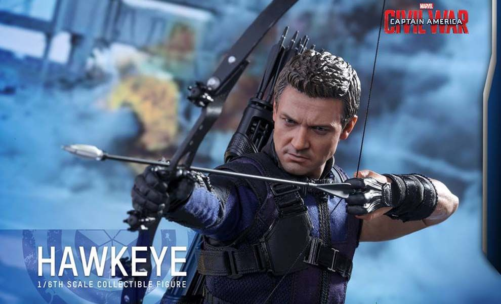 HOT TOYS MMS358 CAPTAIN AMERICA CIVIL WAR HAWKEYE