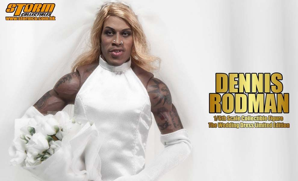Storm Collectibles DENNIS RODMAN THE WEDDING DRESS SPECIAL EDITION