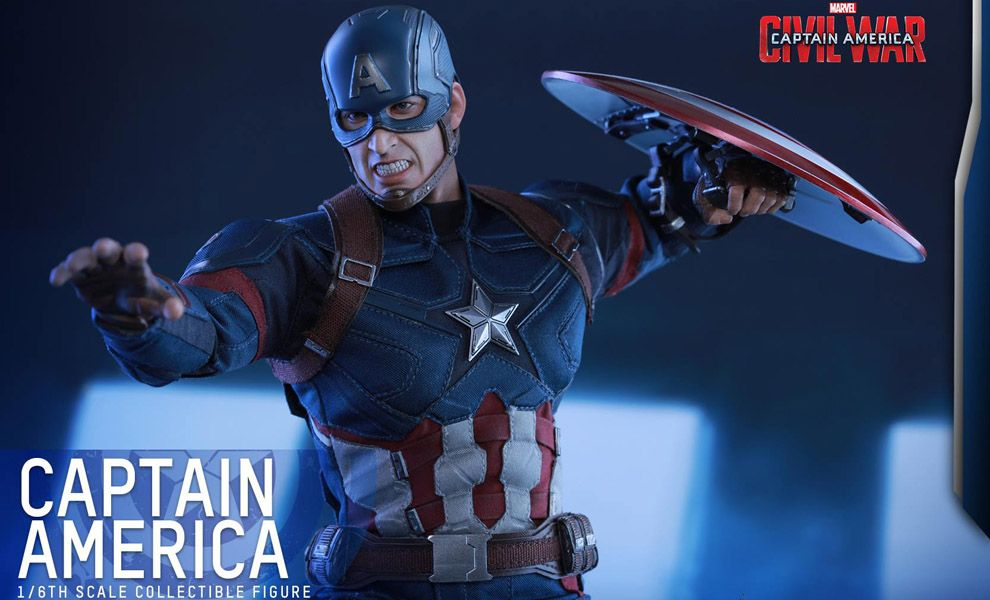 HOT TOYS CAPTAIN AMERICA CIVIL WAR CAPTAIN AMERICA 1