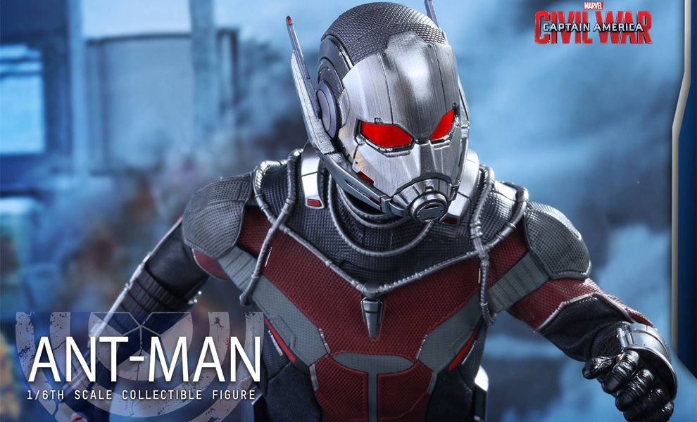 HOT TOYS MMS362 CAPTAIN AMERICA CIVIL WAR ANT-MAN