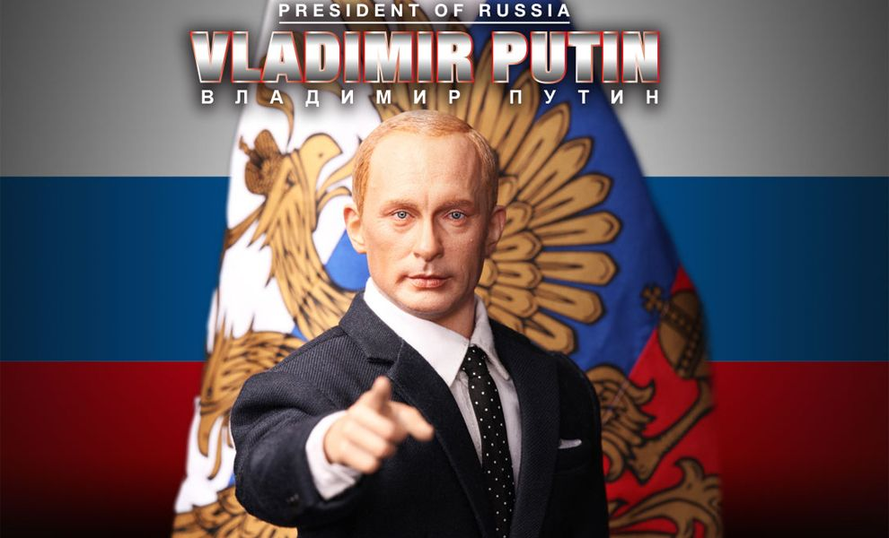 DID R80114 VLADIMIR PUTIN PRESIDENT OF RUSSIA SIMPLE