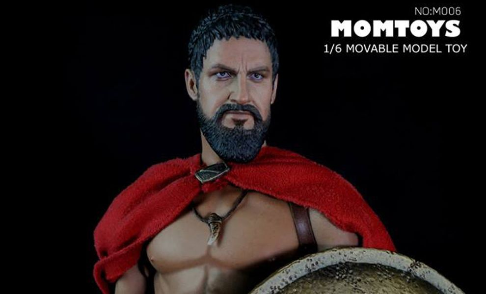 MOMTOYS M006 ANCIENT GREEK WARRIOR WOLF 300 LEONIDA