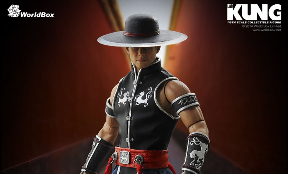 WORLD BOX MORTAL KOMBAT KUNG LAO