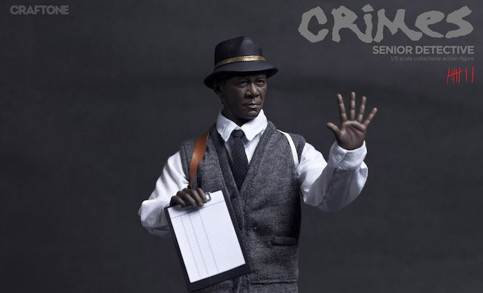 CRAFTONE CT009 SENIOR DETECTIVE MORGAN FREEMAN as WILLIAM SOMERSET