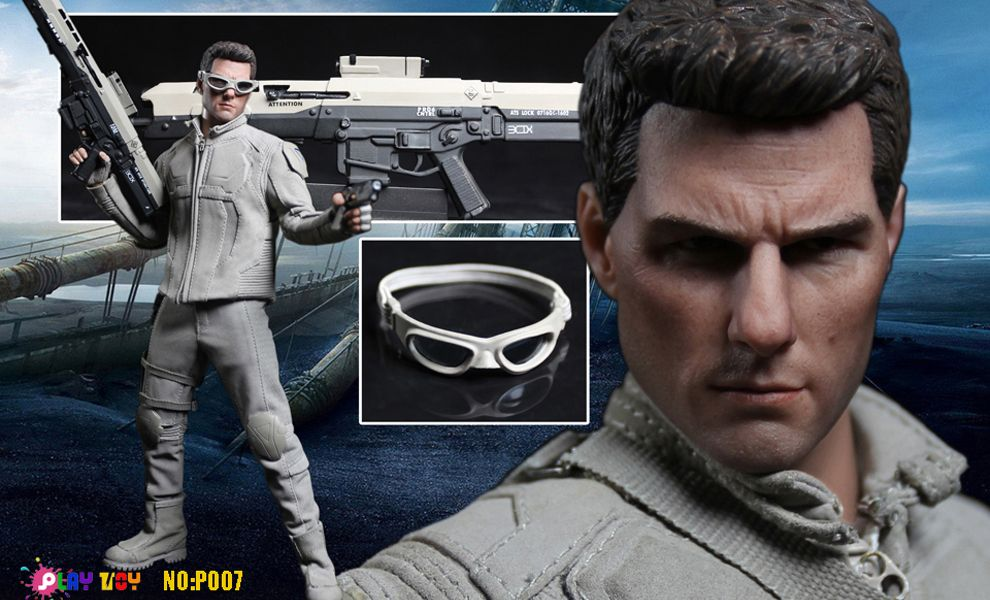 PLAY TOY NO-P007 OBLIVION TOM CRUISE as JACK HARPER MAINTENANCE TECHNICIAN