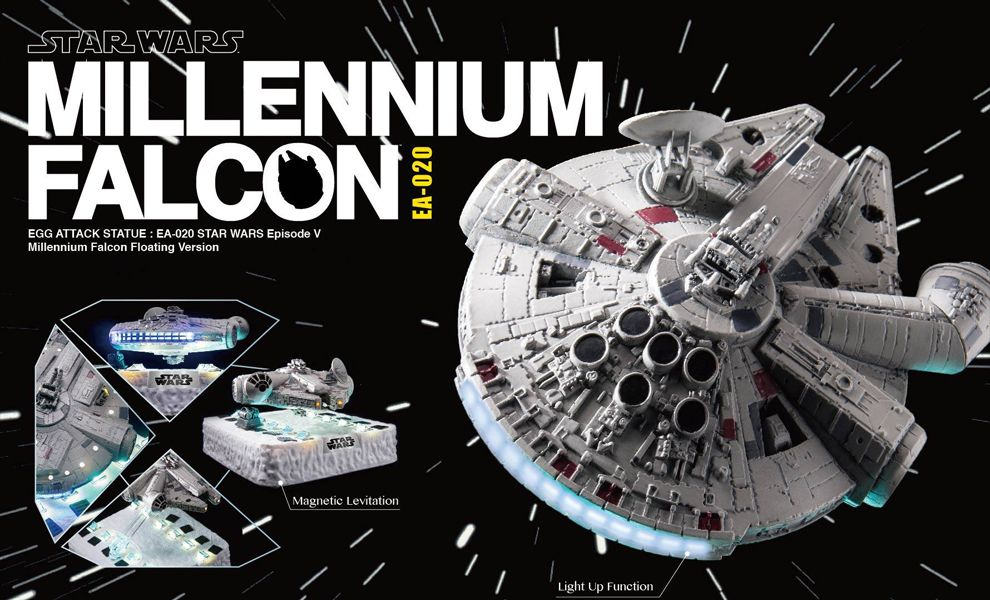 BEAST KINGDOM Beast KINGDOM & Egg ATTACK EA-020 STAR WARS MILLENNIUM FALCON