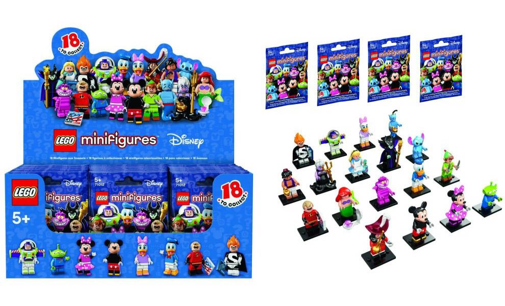 LEGO MINIFIGURES DISNEY SERIE 1 SET 18 PCS