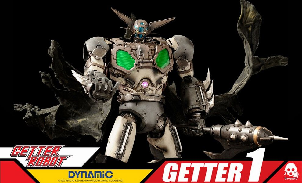 THREEZERO DYNAMIC GETTER ROBOT GETTER 1 EXCLUSIVE